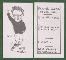 Glasgow Celtic Willie Miller Scotland 237